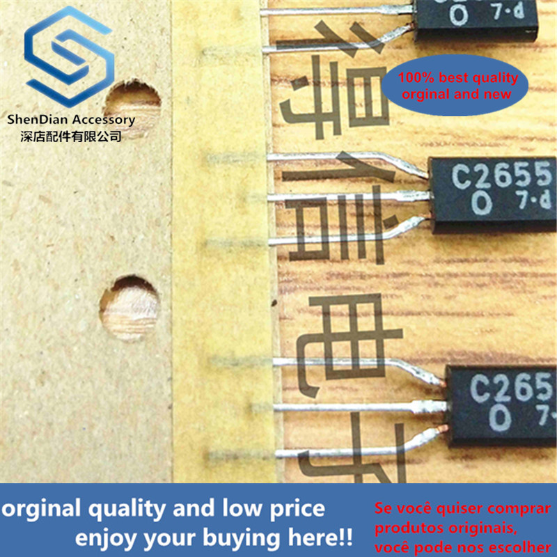 10pcs 100% New And Orginal 2SC2655O C2655  TO-92L In Stock