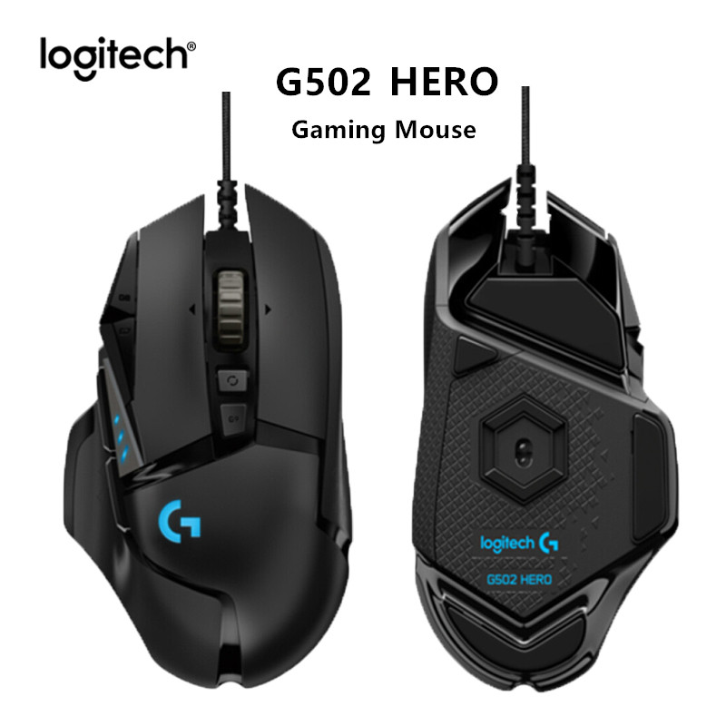 Original Logitech G502 HERO Gaming Mouse Ergonomic Wired 16000DPI RGB Mouse High Performance Mice for Mouse Gamer|Mice|   - AliExpress