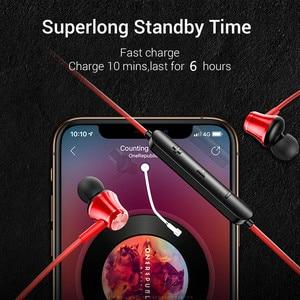 Image 5 - Bluetooth 4,2 Kopfhörer Drahtlose Magnetische Neckband Ohrhörer Freisprecheinrichtung Sport Stereo Ohrhörer Für huawei Samsung Xiaomi Mit MIC