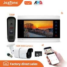"720p/ahd 7 ""ip видео домофон с водонепроницаемым 1200tvl"