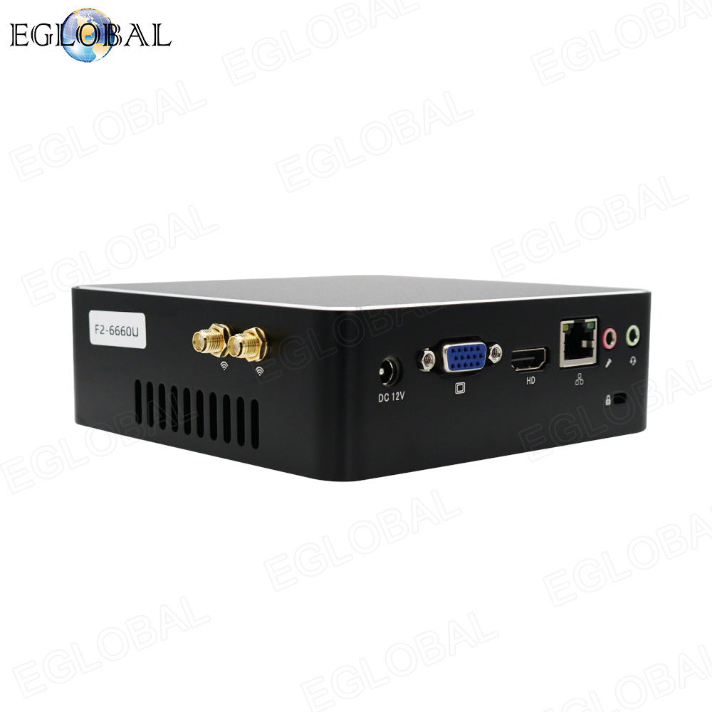Портативный мини ПК Intel Core i3 6167U i5 6260U i7 6560U вентилятор мини компьютерная графика Iris Barebone NUC 4K неттоп LAN VGA HDMI WIFI