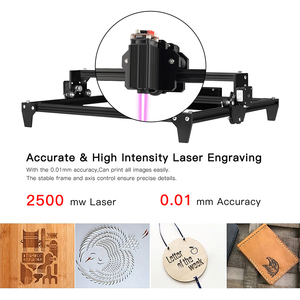 Image 4 - TWO TREES Totem 30*40cm Mini 2500MW 5500MW 2Axis CNC Laser Engraving Machine DIY Engraver Desktop Wood Router/Cutter/Printer