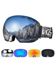 Snowboard Goggles Glasses Ski-Mask Skiing Women Anti-Fog Double-Layers Big UV