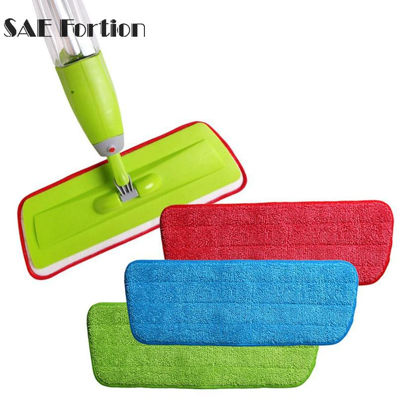 1pcs New Fiber Spray Cloth Mop Head Floor Cleaning Replace Mop LKD7200 Cloth Household Mop Accessories Paste To Cleaning Th R4K6