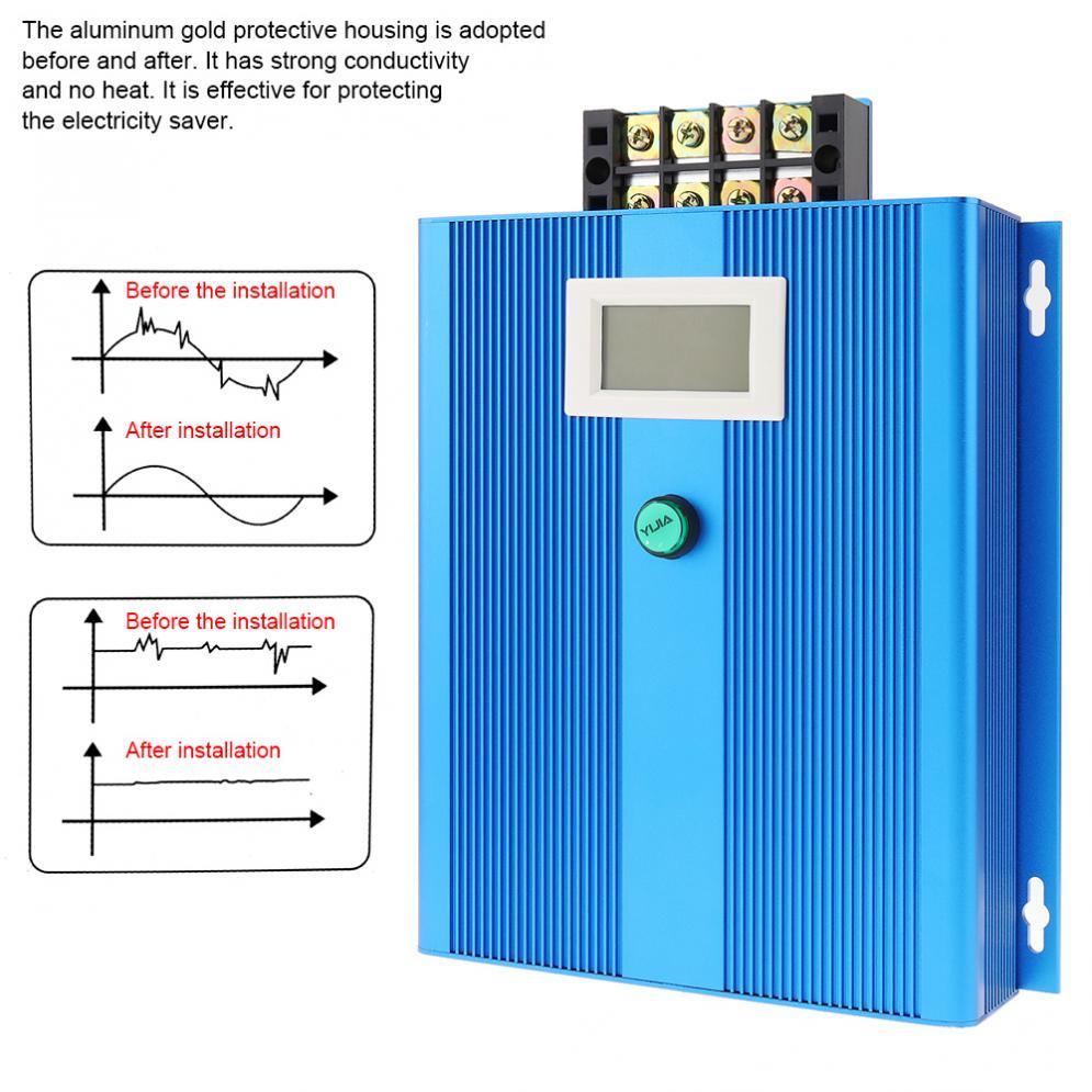 Industurial Dispositivo di Risparmio di Elettricità con Indicatore Led Intelligente di Energia Elettrica Bill Killer Fino a 30% per Il Ristorante di Fabbrica - 2
