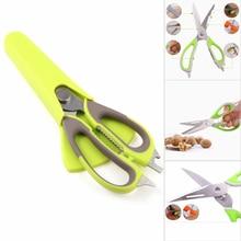 230*75 мм крепкие ножи кухонные ножницы из нержавеющей стали птицы рыба, курица ножницы для разделки для кухни быстрая и эффективная резка