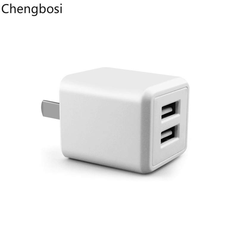 USB Charger 5V 2 1A MAX Universal Portable Travel Wall Charger Adapter US Plug Dual Ports Foldable Mobile Phone Charger in Mobile Phone Chargers from Cellphones Telecommunications