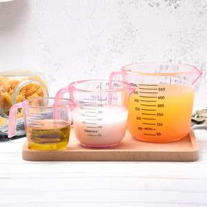 Measuring-Cup Container Beaker Liquid-Measure Baking Water-Milk-Egg-Scale for Jugcup