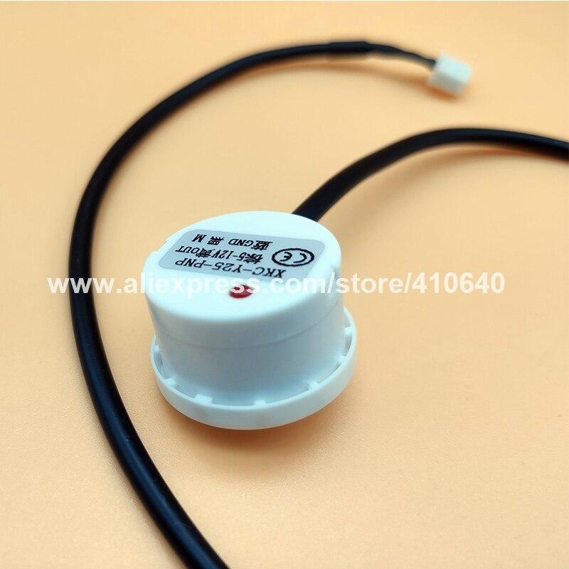 Xkc-Y25-Npn Sensor de nivel de l/íquido Detector de nivel de agua sin contacto Npn 5-12V Interfaz de salida y salida Condensador Ip67