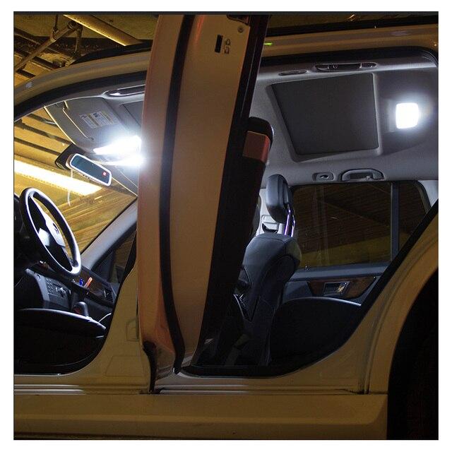 White Car Bulbs Canbus Error Free LED Interior Light Kit For 2011-2013 2014 2015 2016 2017 Chrysler 200 Map Dome License Lamp 2