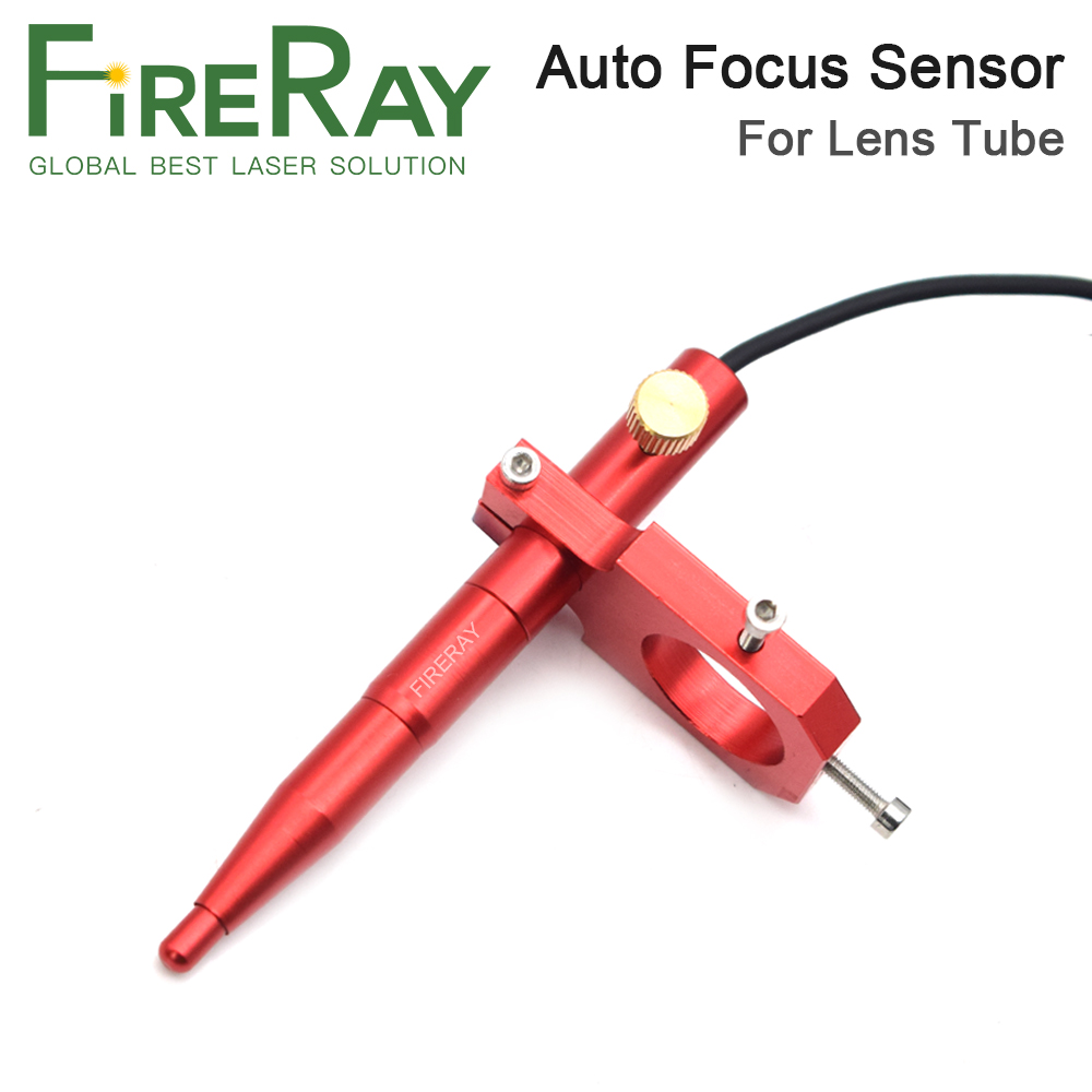 FireRay Auto Focus Focusing Sensor Z-Axis For Automatic Motorized Up Down Table CO2 Laser Engraving Cutting Machine