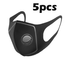 Protective-Masks Respirator Reusable BREATHING-FILTER-VALVES Dust-Mark Mascarilla PM2.5