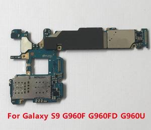 Image 4 - BINYEAE 64GB 128GB Scheda Madre Sbloccato Per Samsung Galaxy S9 G960F G960FD G960U S9 PIÙ G965F G965FD Mainboard Pulito IMEI