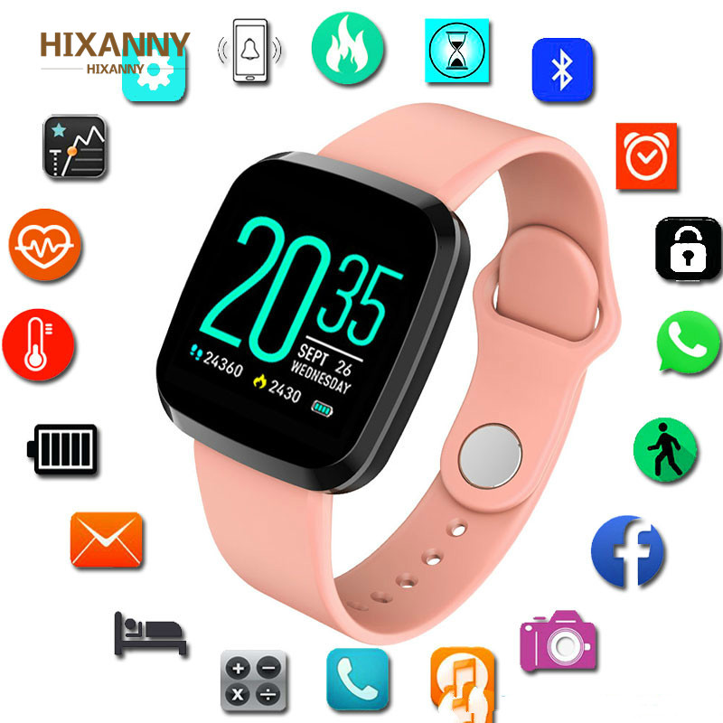 <font><b>P3</b></font> <font><b>Smart</b></font> <font><b>Watch</b></font> Women Men Smartwatch for Android IOS Electronics <font><b>Smart</b></font> Clock Wach Fitness Tracker Silicone Band <font><b>Smart</b></font>-<font><b>watch</b></font> Hours image