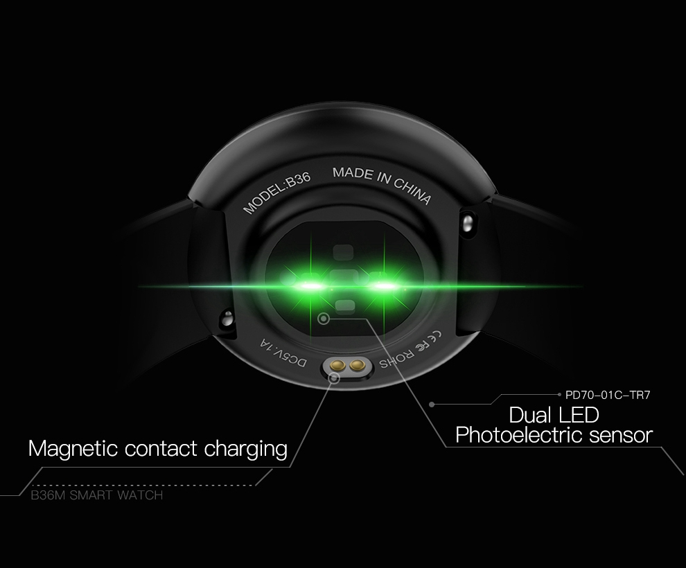 H86060f2952ba48d7a5c59e5e7ff90508Q SKMEI Men Smart Watch Heart Rate Sleep Monitor GPS