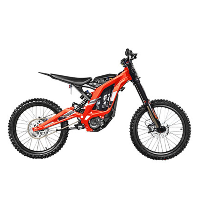 Electric motorcycle mountain cross-country bicycle mountain bike all-aluminum body 45 degree high torque 60V/32Ah/5400w 5