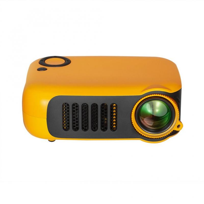 Mini Portable Projector 1080P LCD 50,000 Hours Lamp Life Home Theater Video Projectors Support Power Bank For TV Box/XBOX