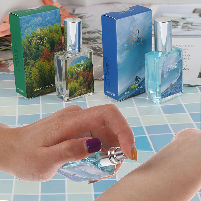 15ml Mini Perfume Fresh Scent For Women Students With Beautiful Bottle And Gift Box Portable In Bag