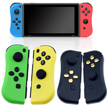 Game Switch Wireless Controller Left Right Bluetooth Gamepad For Nintend Switch NS Joycons Game Handle Grip For Switch Console alloyseed motion sensing game controller for taiko drum game drumstick kinect handle set hand grip gamepad for nintend switch ns