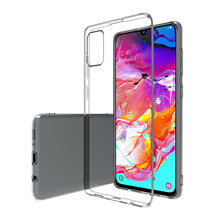 Anti-geel Crystal Clear Dunne Zachte TPU Case voor Samsung Galaxy A51 A71 A70 A50 A30 A40 A10 A20S a10E A20E Shockproof Covers(China)