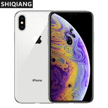 Verwendet Entsperrt Apple iPhone XS Max 6,5 zoll Gesicht ID NFC ROM 64GB/256GB Smartphone A12 IOS12 smartphone