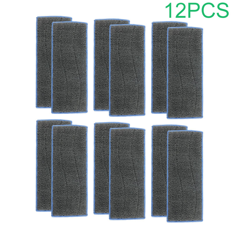 Set-12PCS Cleaning Cloth Accessories For IRobot Braava Jet M6 Vacuum Cleaner Cleaning Cloth IRobot Braava Spare Parts