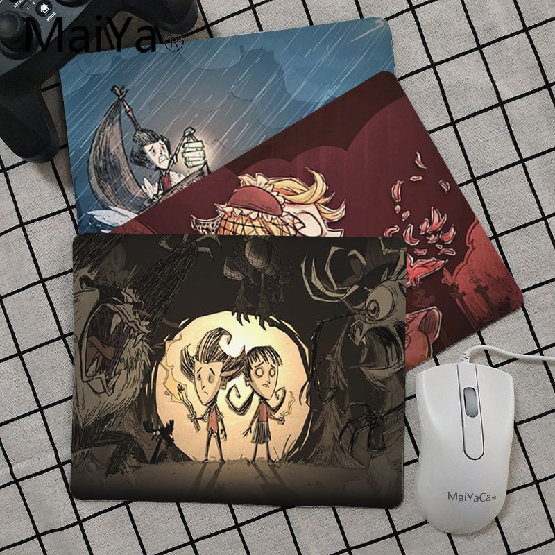 Maiya Top Quality Don't Starve Together DIY Design Pattern Game Mousepad Top Selling Wholesale Gaming Pad Mouse