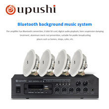 Oupushi MP-2050U+CE502 Public Power Amplifier Bluetooth Background Music System Package Can Use Smart Phone Bluetooth Control