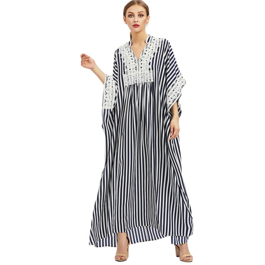 Autumn African Long Maxi Dresses For Women Dashiki Dresses Bazin Riche Traditional African Clothing Long Sleeve Lace Dress