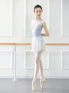 Image 2 - Mono de LICRA sin mangas para mujer, leotardos para Ballet latino, para adulto