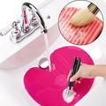 Silikon Make-Up Pinsel Reiniger Machen Up Waschen Pinsel Waschen Kosmetische Foundation Make-Up Pinsel Reiniger Pad Wäscher Bord Werkzeug