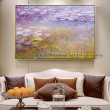 Best home Decorative Hand Painted Landscape Oil Paintings flower Wall Painting landscape Canvas paintings for bedroom