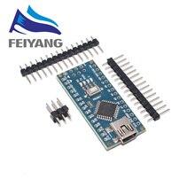 100PCS MINI USB/MICRO USB Nano 3.0 ATMEGA328P/ATMEGA168P controller compatible NANO CH340 USB driver NO CABLE