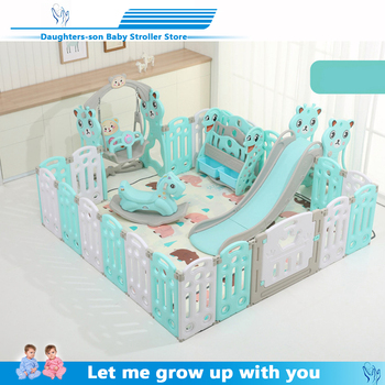 Indoor Baby Playpens Outdoor Games Fencing Children Play Fence Kids Activity Gear Environmental Protection EP Safety Play Yard kids play fence indoor baby playpens outdoor children activity gear environmental protection ep safety play yard