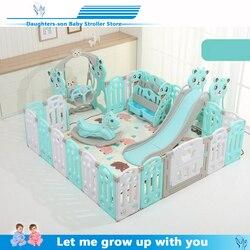 Juegos de interior para bebés, juegos de exterior, cercado, valla para niños, equipo de actividad, protección del medio ambiente, patio de juego de seguridad