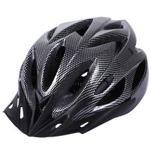 Carbon Bicycle Helmet Bike MTB Cycling Adult Adjustable Unisex Safety Helmet цена 2017