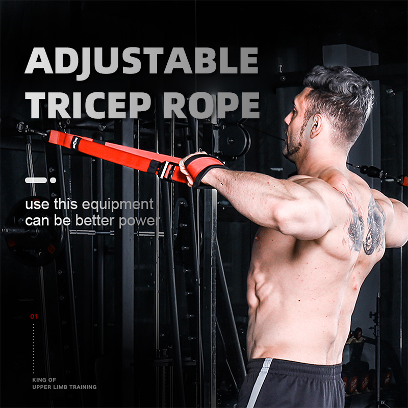 INNSTAR Extension Gantry Rope Gym Fitness Accessories Fly Bird Bicep Triceps Ropes Push Pull Down Cord Workout Strength Training 1