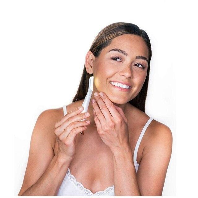 Multifunction Electric Shaver Woman Razor Facial LED Hair Removal Leg Underarms Epilator Nose Eyebrow Trimmer 4