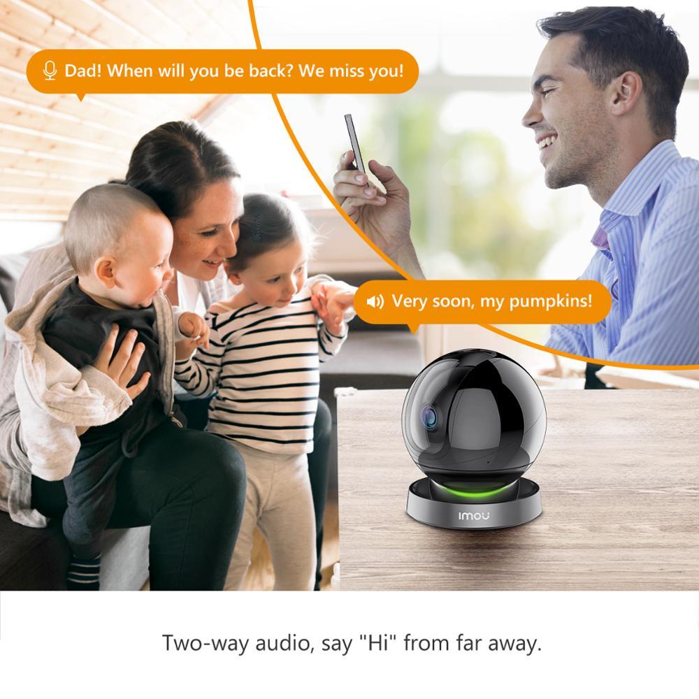 lowest price Dahua imou Ranger 2S 1080P Wifi IP Camera Home Security 360 Camera AI Human Detection Baby Phone Camera Night Vision ptz Camera