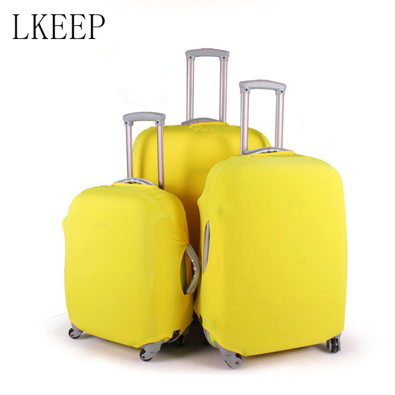 Fashion Travel Suitcase Protective Cover For 20/24/28inch Trolley Luggage Accessories Case Cover Dust Cover Travel Accessories