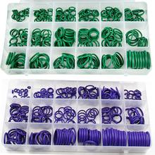 265 sztuk 18 rozmiary Universal Car klimatyzacja HNBR O pierścienie narzędzia do naprawy Auto sprężarki pierścienie gumowe uszczelniacz akcesoria samochodowe tanie tanio DEDOMON CN (pochodzenie) Instalacja klimatyzacyjna 1 x Set Rubber O Ring A C Heater Controls 18 Sizes Kit Air Conditioning HNBR O Rings