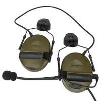 إصدار من خوذة COMTAC II سماعة رأس تكتيكية عسكرية Airsoft لاقط للحد من الضوضاء لاقط للأذنين للصيد للتصويب FG