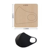 New Dies For 2020 Wood Die Cutting DIY Mold For Mask Laser Cutting Dies New Die cut Leather Tools Wood Die For Big Shot Machine