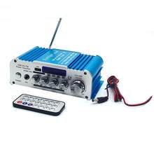 Auto High-power 12 V/100-220 V Bluetooth 2CH Hallo-fi Audio Power Verstärker Karaoke FM Radio player(China)