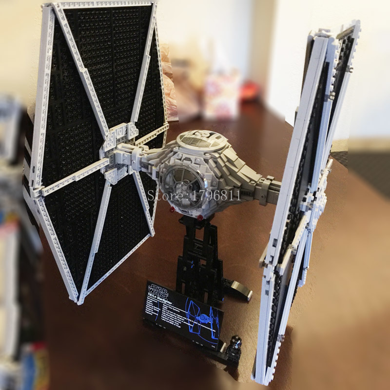 05036 Movie Genuine Series TIE Fighter 1685Pcs Mobile Building Block Bricks Toys Compatible With 75095 Star Wars