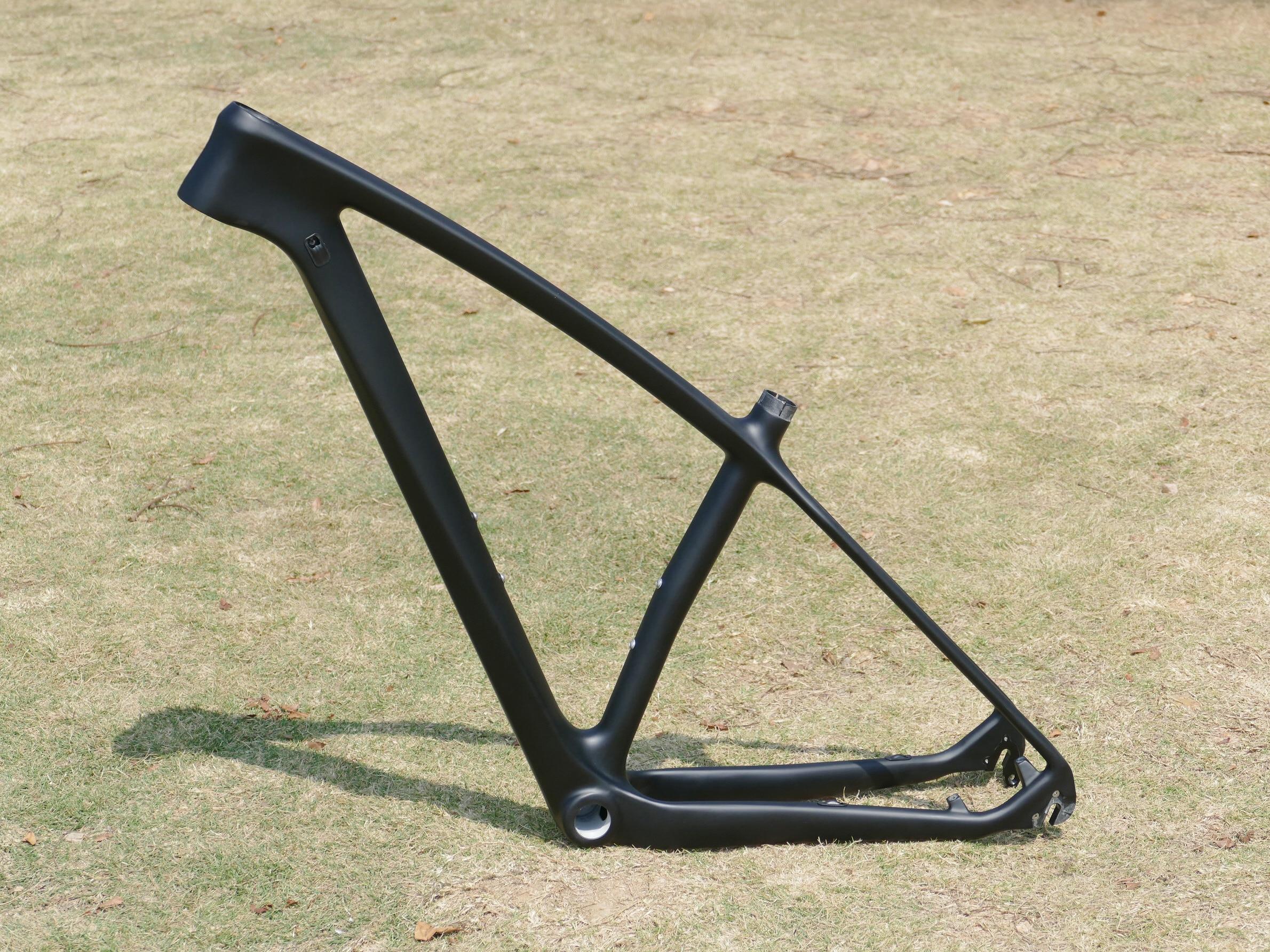 Новое поступление полностью углеродный диск UD матовый велосипедный велосипед Велоспорт 29ER горный велосипед MTB 142*12 мм/QR 29er рама 15