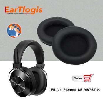 Almohadillas de repuesto para auriculares, para Pioneer SE-MS7BT-K, SEMS7BTK, funda para orejeras,...