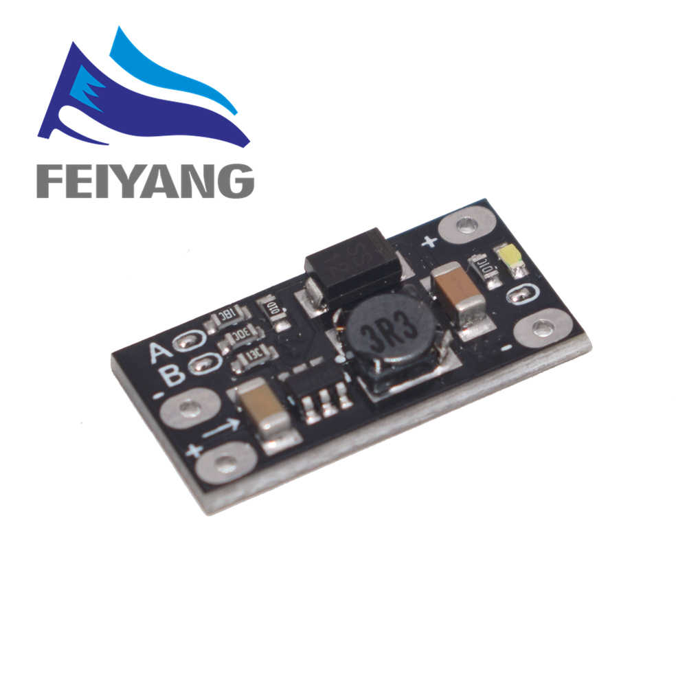 1 pces mais novo multi-função mini módulo de impulso step up placa 5 v/8 v/9 v/12 v 1.5a led indicador diy módulo de tensão eletrônica