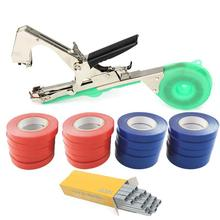 Z&Y Tying Machine Tools Plant Branch Plants Minced Vegetable +20 Rolls Tape Set Tapetool Tapener Tapes Home Garden tools