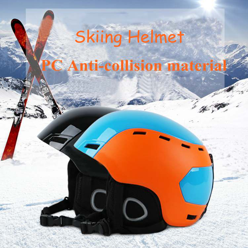 Skiing Helmet Snow Sports Anti-Collision Safety Helmets Bike Riding Headwear